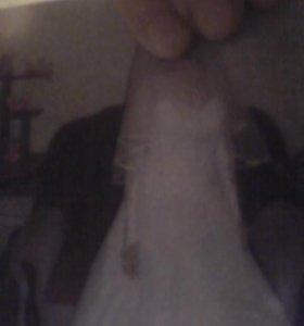 Комплект свадебного платье новое