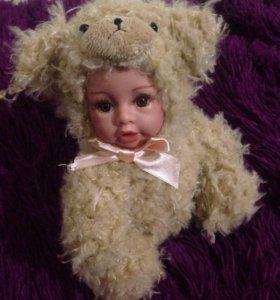 Фарфоровая кукла зверята