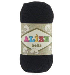 Ализе Белла хлопок (черный)