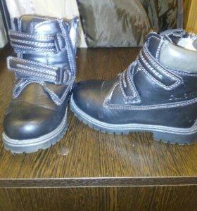 Новые зимние ботиночки на овчине