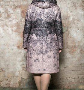 Красивое пальто Brillare 60-62 размера
