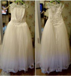 Свадебное платье + много дополнений к нему