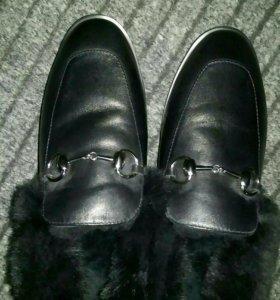 Ботинки женские зимние 36 р-р