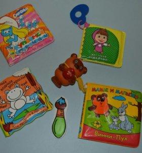 Книги детские, мягкие