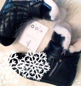 Ботинки зимние Chanel