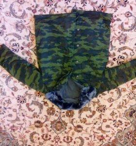 Комплект бушлат и штаны ватные