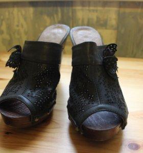 Туфли открытые босоножки