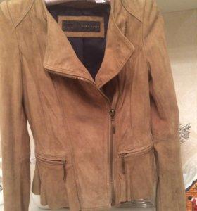 Куртка замшевая новая натуральная