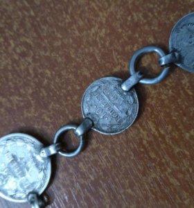Продаю старинные серебряные монеты