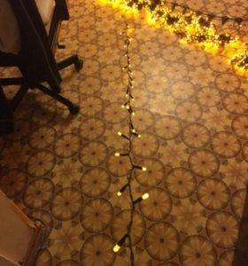 Гирлянда светодиодный дождь 760 лампочек 2на3 метр
