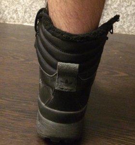 Зимние кроссовки с мехом Adidas original