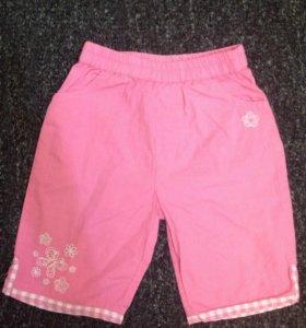 9-12 мес: Штанишки-шорты для девочки