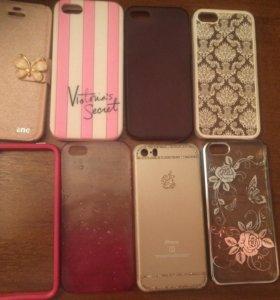 Чехлы на iPhone 5,5C,5S,5SE