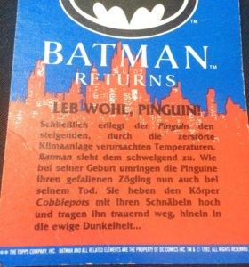 Карточки Batman 1992