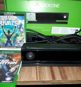 Кинект для Xbox one + игры