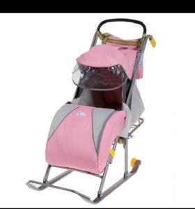 Санки,стульчик для кормления,комбез весна р-98