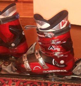 Обмен\продажа Горные лыжи, Горнолыжные ботинки