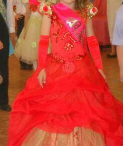 Платье на выпускной д/с
