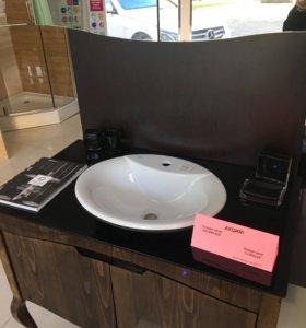 Мебель для ванной Rustin 95(тумба и шкаф зеркало)