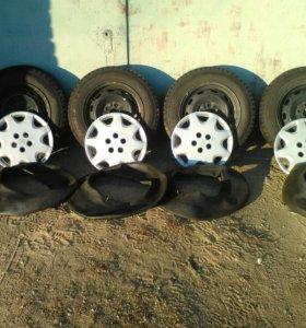 Комплект колес 14