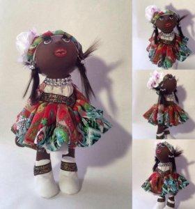 Кукла текстильная ручнойработы