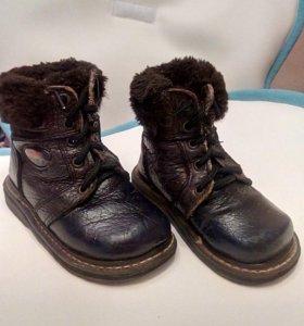 Ботинки зимние 23-24 размер