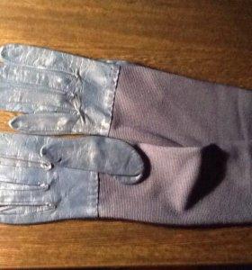 Перчатки длинные женские новые