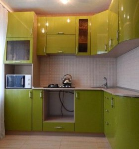 Кухня с фасадами МДФ