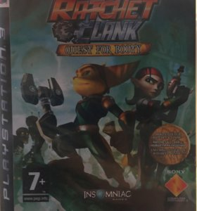 Игра на PS3- Ratchet&Clank QUEST FOR BOOTY.