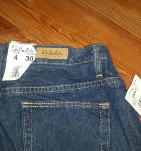 Новые джинсы Cabela's