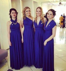 Платье-трансформер (синее)