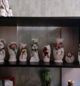 Коллекция вазочек