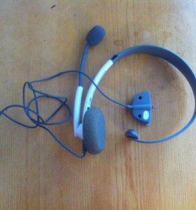 Наушники с микрофоном для Xbox 360