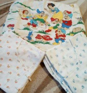 Одеяло и 2 пододеяльника