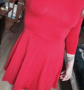 Красное платье 👗 💋