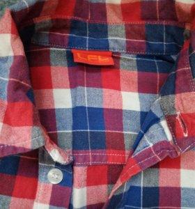 Рубашка хлопковая стильная