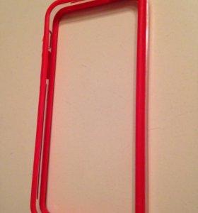 Чехол-бампер для айфона(iPhone) 5,5s