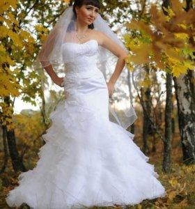 Свадебное платье от известного дизайнера Oksana Mu