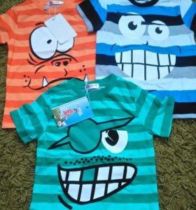 Новые футболки на 3 годика