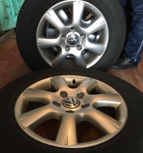 Колеса Volkswagen Touareg с резиной