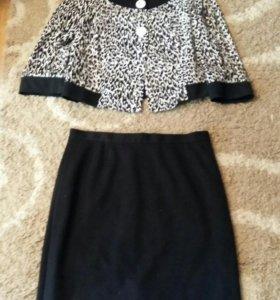 Продам комплект (жакет и юбка)