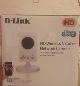 Веб-камера HD Wireless N Cube Network Camera