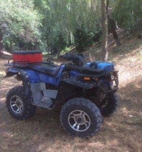 Квадроцикл с двигателем от Оки