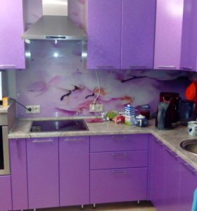Фиолетовая кухня!
