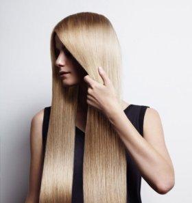 Каратиновое выпрямление и восстановление волос