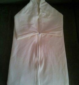 Одеяло-конверт для новорожденного