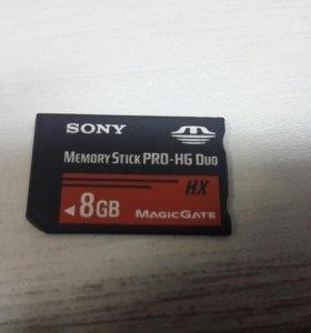 Sony Memory Stick Pro HG Duo 8gb