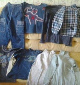 Пакет одежды для мальчика 100-140 см