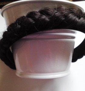 Ободок, обруч для головы - косичка