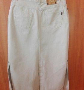 Юбка джинсовая, р.50